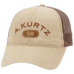Men's A Kurtz Arc Trucker Hat Khaki