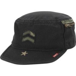 Men's A Kurtz Camo Detail Fritz Legion Cap Black