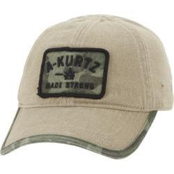 Men's A Kurtz Patch Baseball Cap Khaki