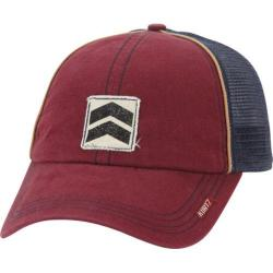 Men's A Kurtz Torch Baseball Cap Dark Red