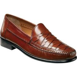 Men's Brass Boot Napoli Cognac Buffalo Calf Leather - Thumbnail 0