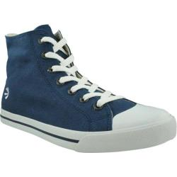 Men's Burnetie High Top Sneaker 016105 Blue