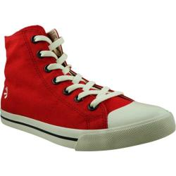 Men's Burnetie High Top Sneaker 016105 Red