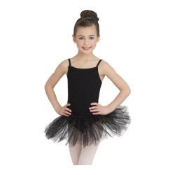 Girls' Capezio Dance Black Camisole Tutu Dress