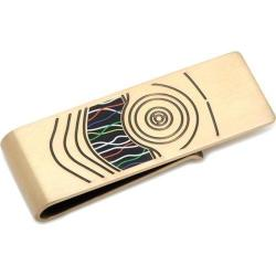 Men's Cufflinks Inc C3PO Money Clip Gold