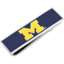 Men's Cufflinks Inc University of Michigan Wolverines Money Clip Blue