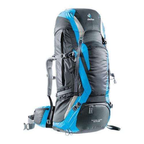 266a2f67dadc3 Shop Deuter Futura Vario 55 + 10 SL Travel Backpack Granite Turquoise Silver  - Free Shipping Today - Overstock - 10321561
