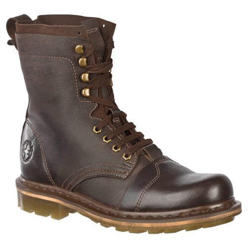 Men's Dr. Martens Pier 9 Tie Boot Dark Brown Wyoming/