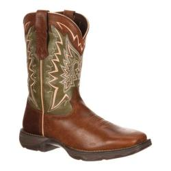Women's Durango Boot DRD0053 10in Let Love Fly Lady Rebel Brown/Green Leather