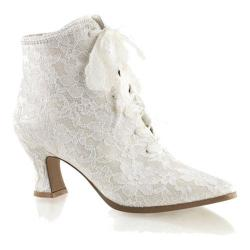 Women's Funtasma Victorian 30 Ivory Satin/Lace (More options available)