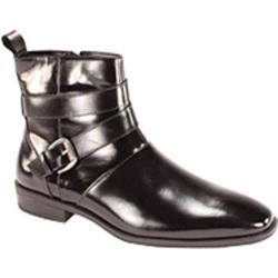 Men's Giorgio Venturi 6480 Black Leather Boots