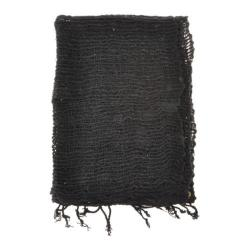 Women's Lulii Organic Cotton Scarf Black
