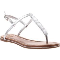 Women's Madeline Aubree T-Strap Sandal Silver