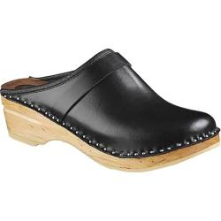 Women's Troentorp Bastad Clogs Davinci Original Black