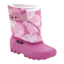 Children's Tundra Teddy 4 Fuchsia/Pink Flakes