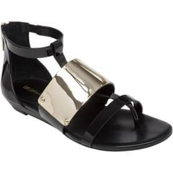 Women's BCBGeneration Angelika Sandal Black Synthetic Patent