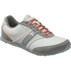 Men's TRUE Linkswear TRUE motion White/Burnt Orange/Grey