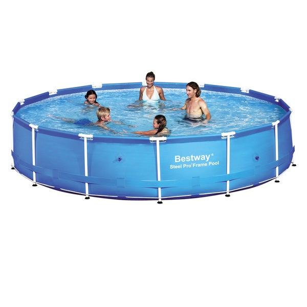 Bestway steel frame pool free shipping today 16120025 - Steel frame pool ...