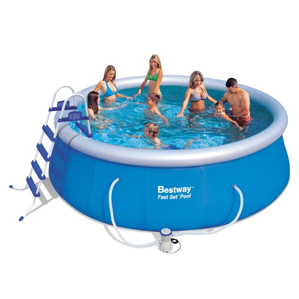 Bestway Fast Set Pool Set Free Shipping Today Overstock 16120027