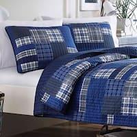 Eddie Bauer Eastmont Cotton Reversible 3-piece Quilt Set