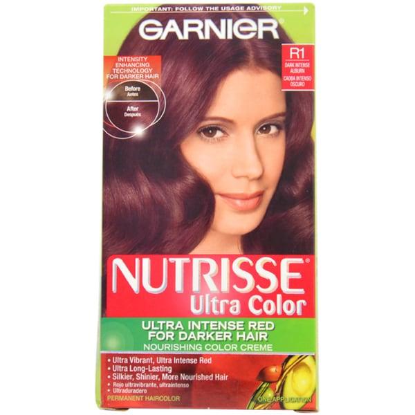 Garnier Nutrisse Dark Intense Auburn Nourishing Hair Color 1