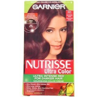 Garnier Nutrisse Dark Intense Auburn Nourishing Hair Color (1 Application)