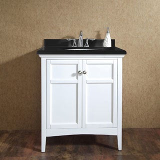 OVE Decors Campo 30-inch Single Sink Bathroom Vanity with Granite Top