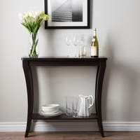 The Gray Barn Zephyr Hill Cappuccino Sofa Table