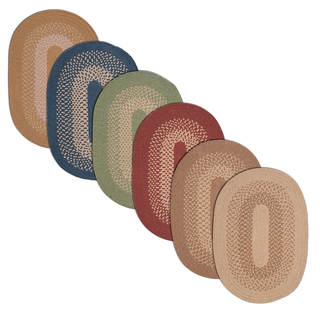 Stateside Wool-blend Area Rug (8' x 10' Oval)