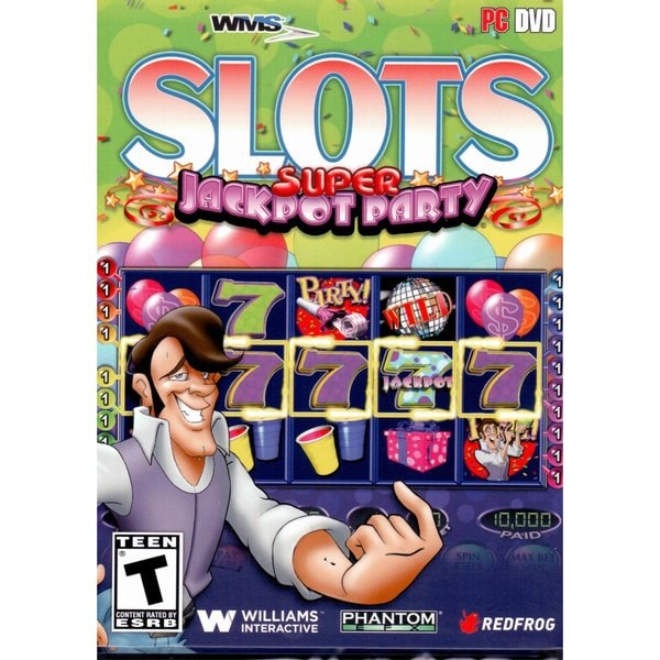 WMS Casino Gaming Slots: Super Jackpot Party PC DVD