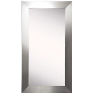 American Made Rayne Silver Floor/ Vanity Mirror