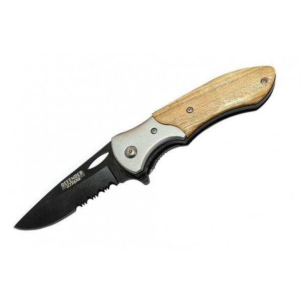 7.5-inch Pocket Spring Assisted Carbon Steel Knife