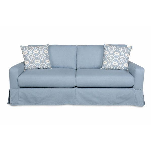 Sofab Annapolitan Blue Pin Stripe Sofa