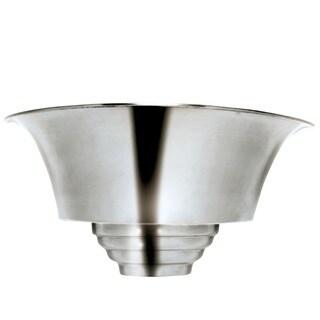 Benton 1-light Brushed Steel Sconce