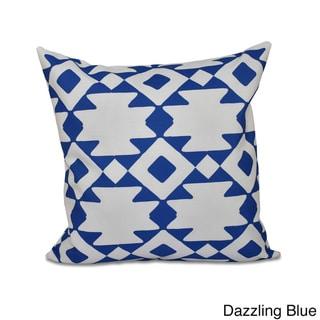 20 x 20-inch Geometric Decorative Throw Pillow