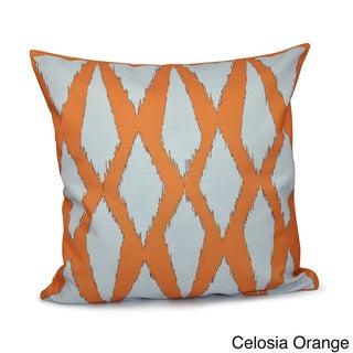 20 x 20-inch Diamond Geometric Decorative Throw Pillow