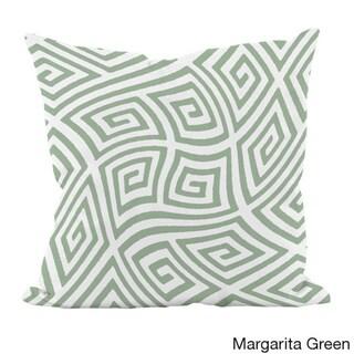 20 x 20-inch Radiant Orchid Geometric Decorative Throw Pillow (Margarita Green)