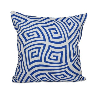 20 x 20-inch Radiant Orchid Geometric Decorative Throw Pillow