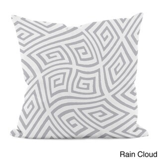 20 x 20-inch Radiant Orchid Geometric Decorative Throw Pillow (Rain Cloud-20)