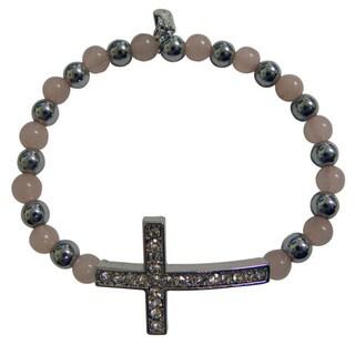 Magnetic Cross Bracelet