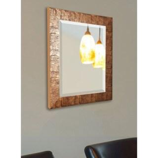 American Made Rayne Sarfari Bronze Beveled Wall/ Vanity Mirror - Bronze/Black
