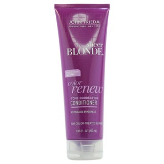 John Frieda Sheer Blonde Color Renew Tone Correcting 8.45-ounce Conditioner
