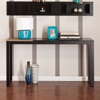 Holly & Martin Lydock Black Console Table