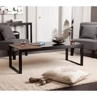 Holly & Martin Lydock Black Cocktail Table