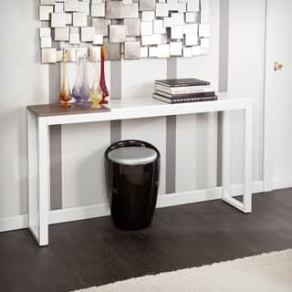 Holly & Martin Lydock White Console Table|https://ak1.ostkcdn.com/images/products/8903555/Holly-Martin-Lydock-White-Console-Table-P16122950.jpg?impolicy=medium