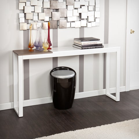 Holly & Martin Lydock White Console Table