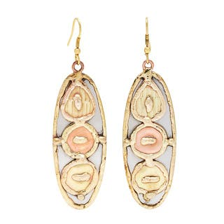 Handmade Stainless Steel with Copper and Brass Discs Earrings (India)|https://ak1.ostkcdn.com/images/products/8903847/Handmade-Stainless-Steel-with-Copper-and-Brass-Discs-Earrings-India-P16123190.jpg?impolicy=medium