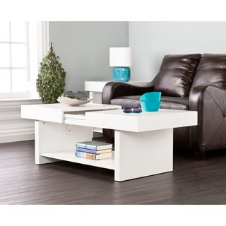Holly & Martin Glidick White Slide-Top Cocktail/ Coffee Table