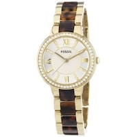 Fossil Women's Virginia Three Hand Quartz Watch