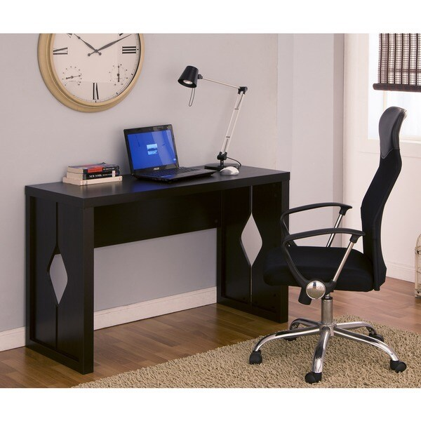 Furniture of America Bryler Modern Office Writing Desk, Cappuccino